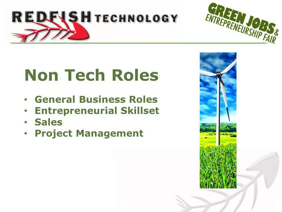 Non Tech Roles General Business Roles Entrepreneurial Skillset Sales Project Management