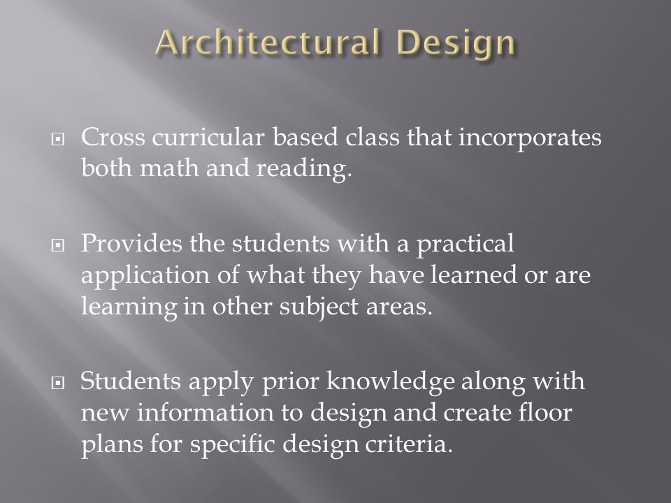 Cross curricular based class that incorporates both math and reading.
