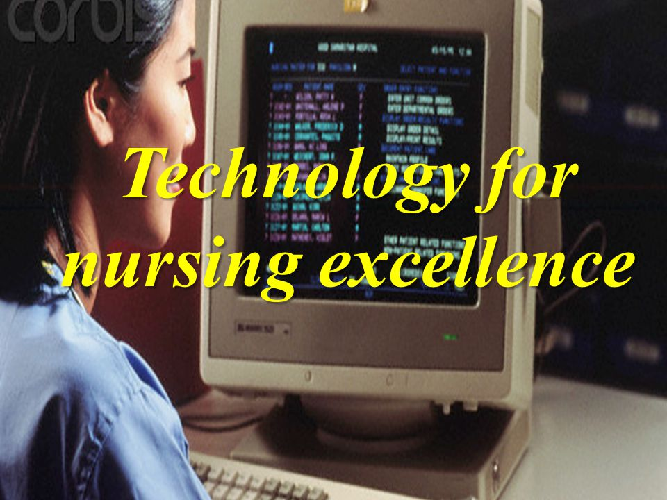 NURSING SHORTAGE Technology for nursing excellence
