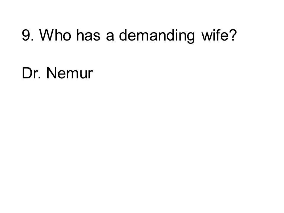 Dr. Nemur