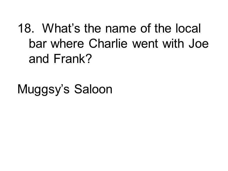 Muggsys Saloon