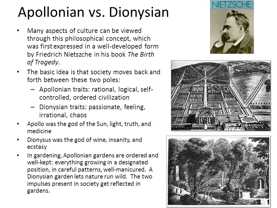Apollonian vs.