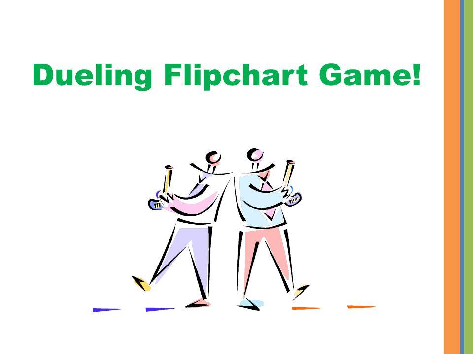 Dueling Flipchart Game!
