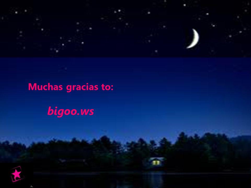 Muchas gracias to: bigoo.ws