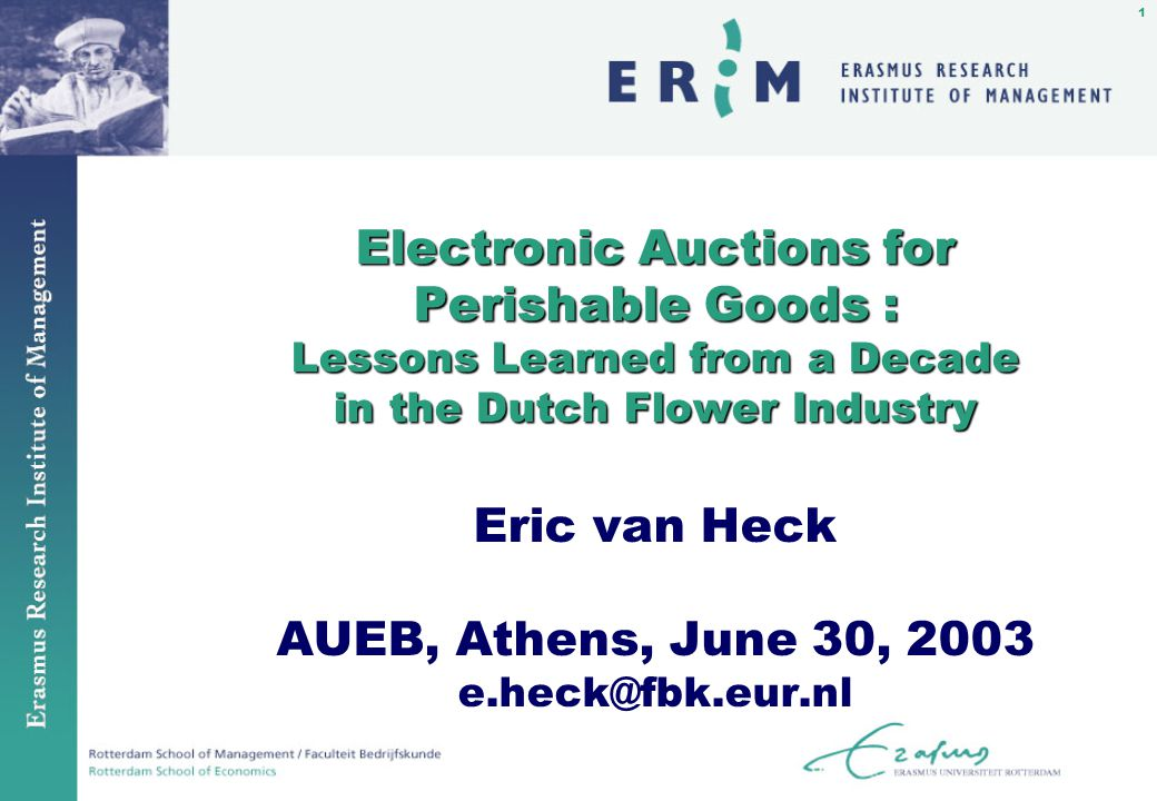 32 Screen Auctioning: Implementation n Replace the physical product representation with electronic product representation.