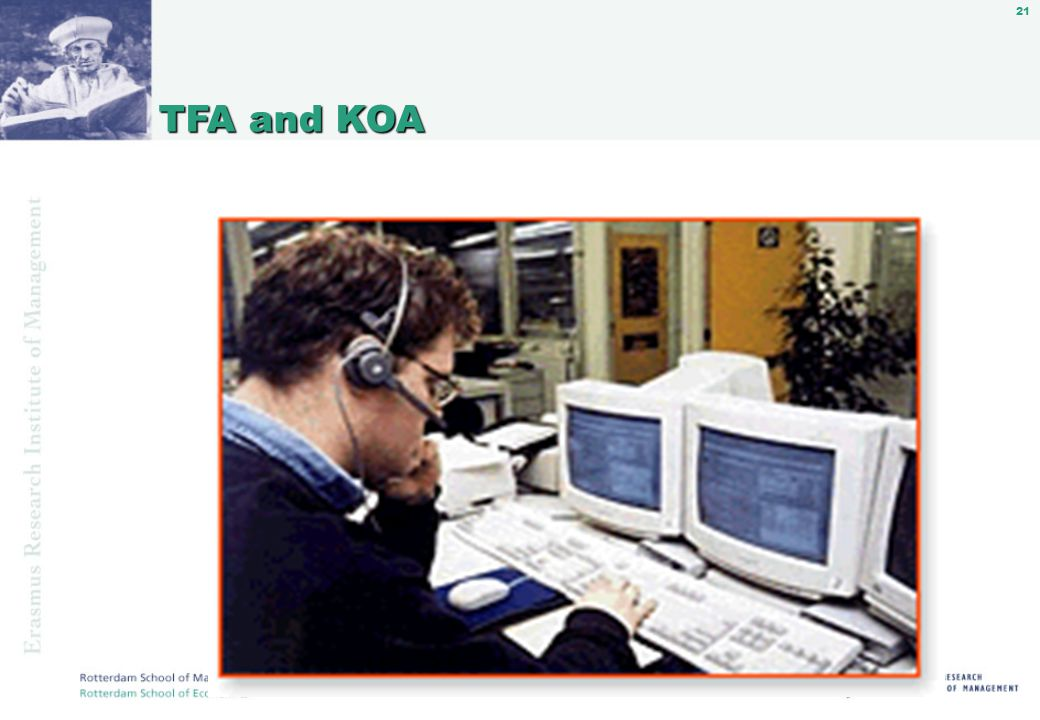21 TFA and KOA TFA and KOA