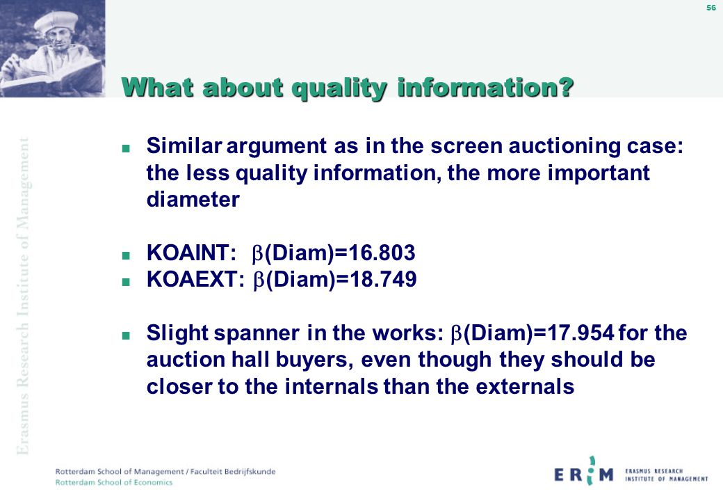 56 What about quality information.