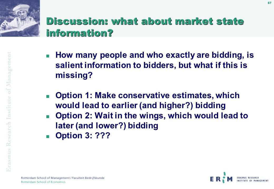 57 Discussion: what about market state information.