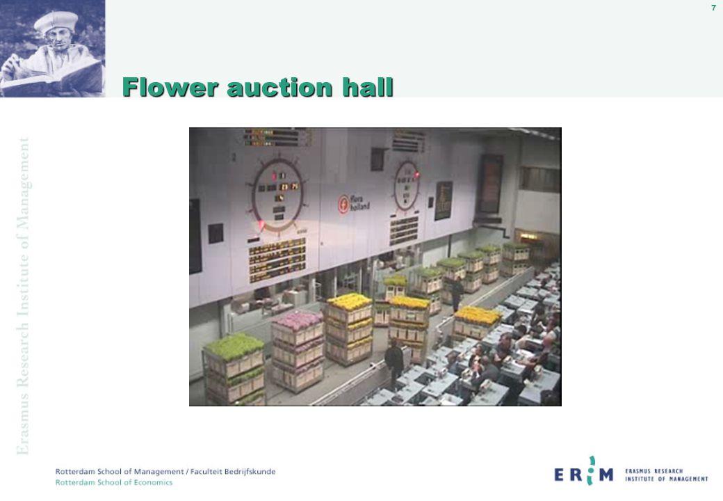 7 Flower auction hall