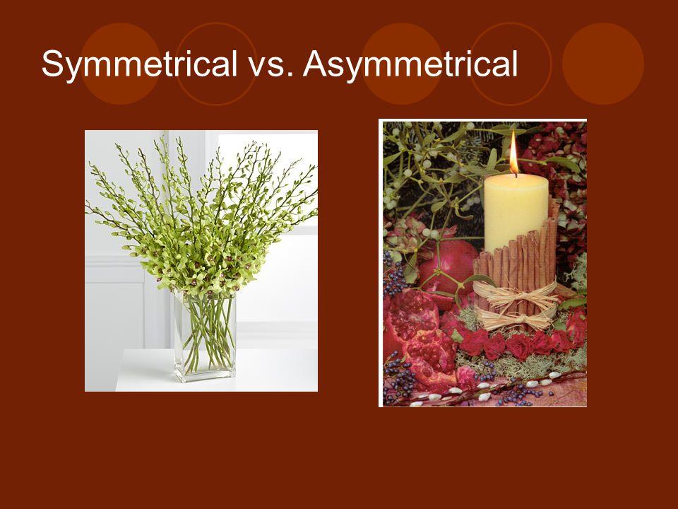 Symmetrical vs. Asymmetrical