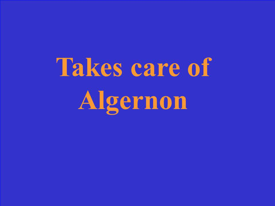 What is the theme of Flowers for Algernon?