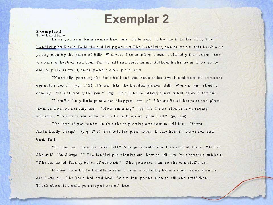 Exemplar 2