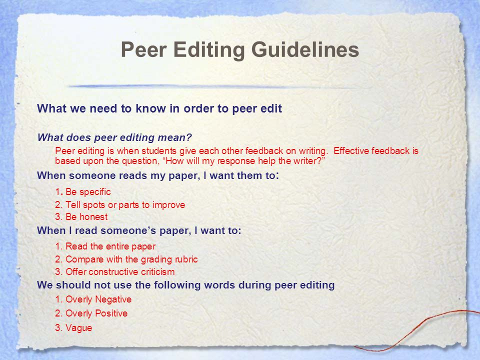 what is peer editing research paper Download and read peer editing research paper peer editing research paper come with us to read a new book that is coming recently yeah, this is a new coming book.