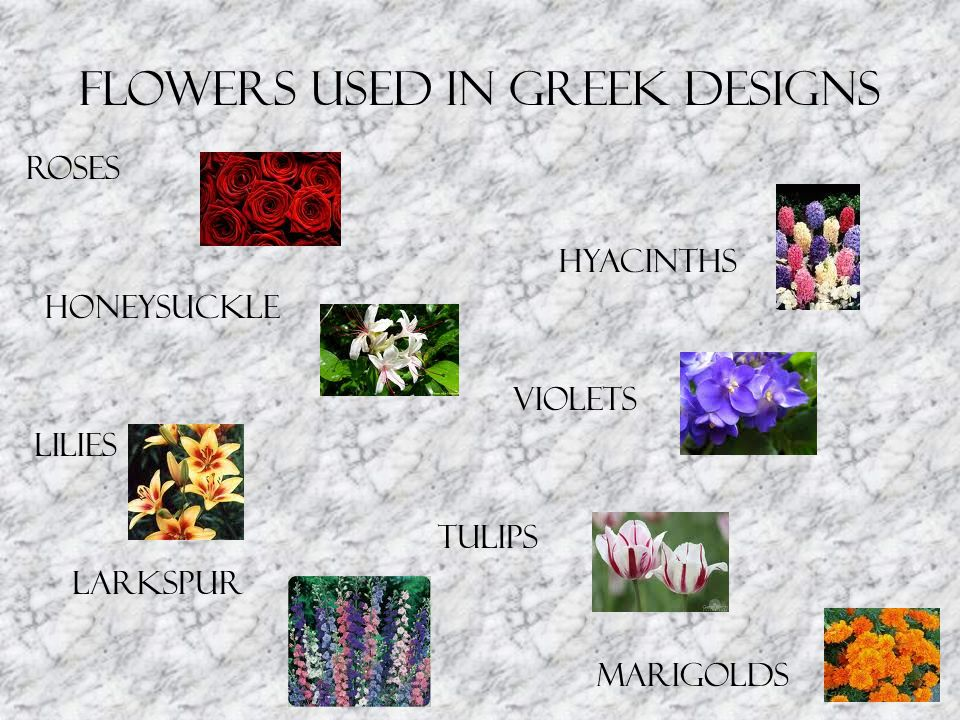 Modern Period (Contemporary) Floral Design Influenced by ancient Egyptian, Jazz age, and the industrial age.
