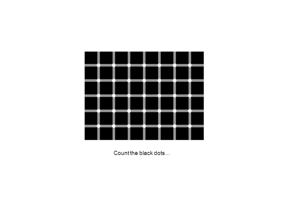 Count the black dots…