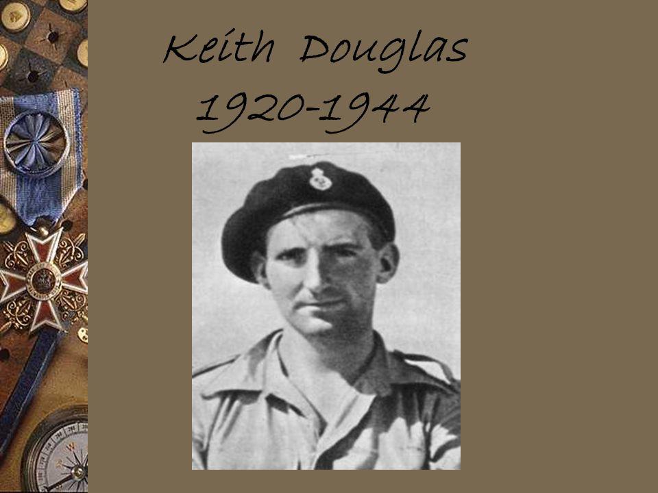 Keith Douglas 1920-1944