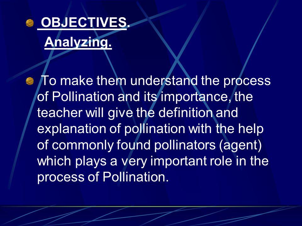 OBJECTIVES.Analyzing.
