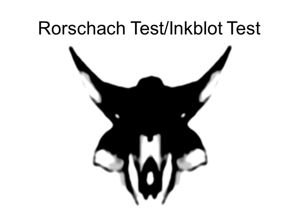 Background Method of psychological evaluation Psychologists use to examine personality characteristics and emotional functioning of patients Currently the second most commonly used test in forensic assessment Developed by Hermann Rorschach –Swiss psychiatrist –Believe in psychoanalysis –early 1900s