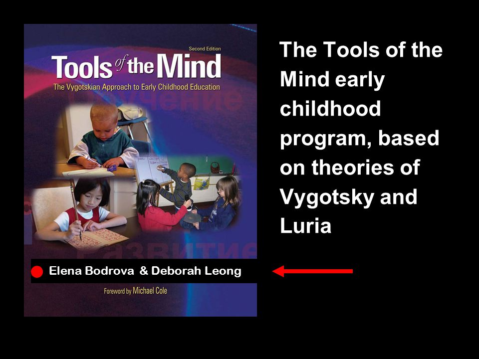 The Tools of the Mind early childhood program, based on theories of Vygotsky and Luria Elena Bodrova & Deborah Leong