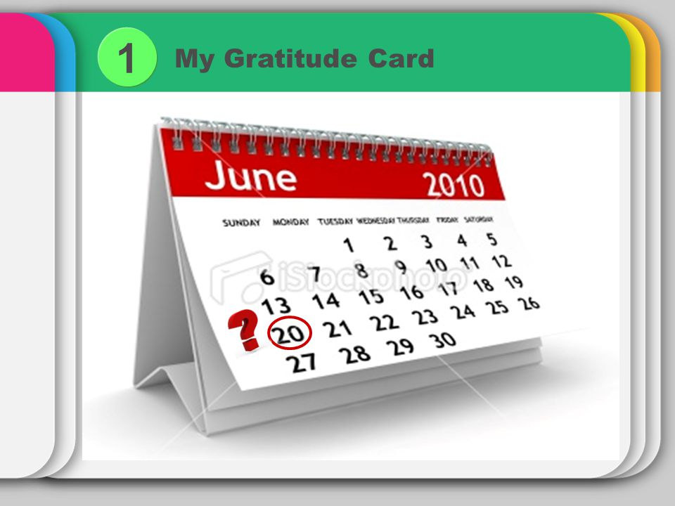 My Gratitude Card 1