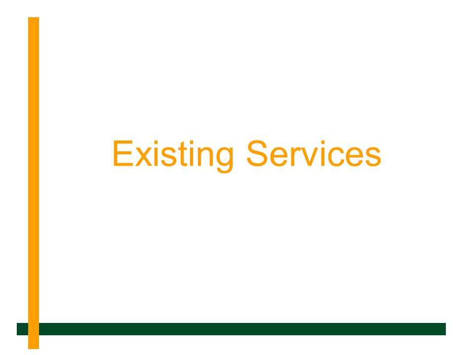 Existing Services