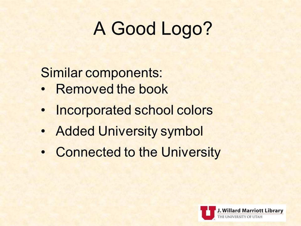 A Good Logo.
