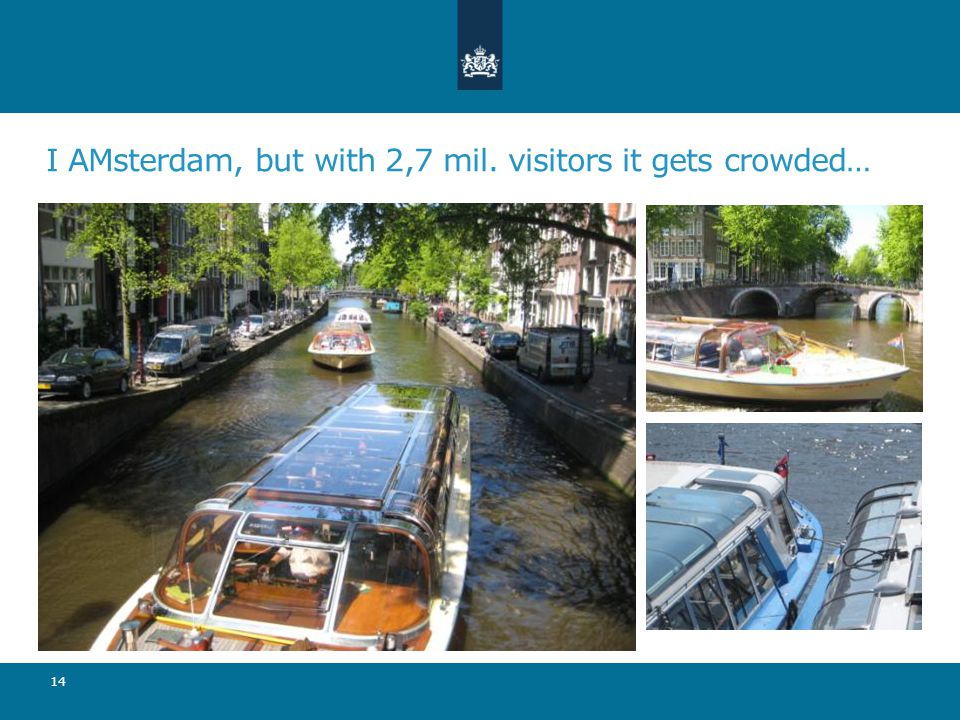 I AMsterdam, but with 2,7 mil. visitors it gets crowded… 14