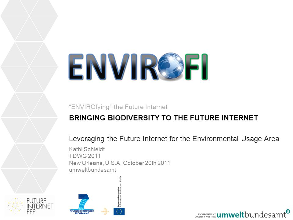 12 Bring Biodiversity into the Future Internet…
