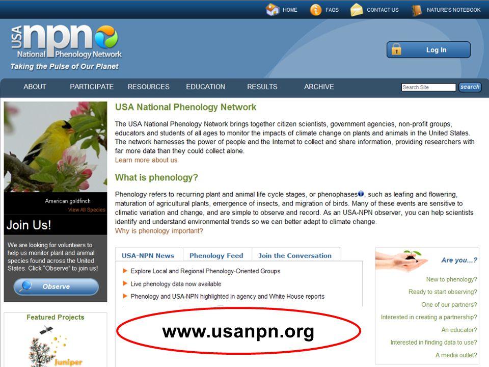 www.usanpn.org