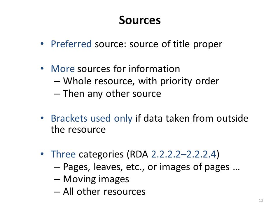 14 Sources: Resources with Pages, Leaves, etc.or images of pages, leaves, etc.