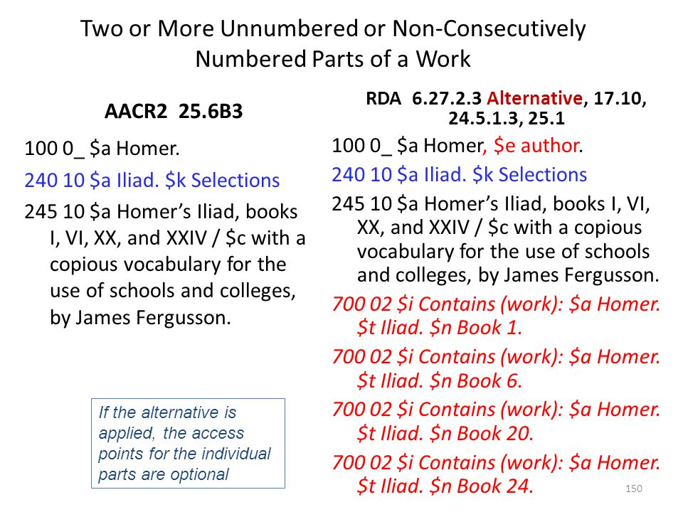 Related Works AACR2 21.28 100 1_ $a McCaig, Donald.