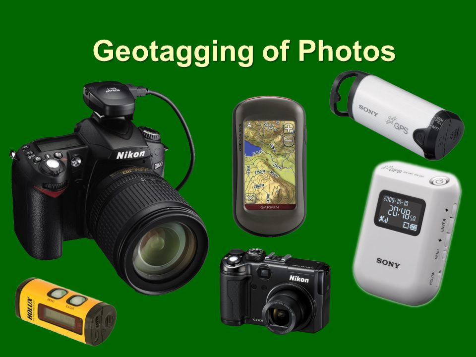 Geotagging of Photos