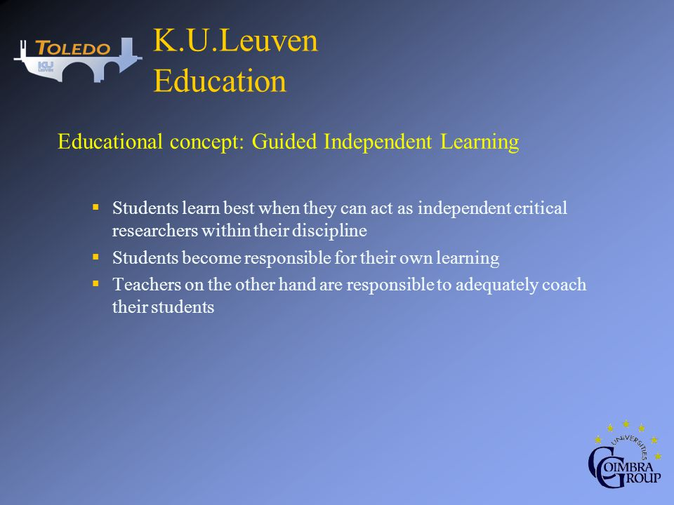 So far about The Digital Learning Environment At K.U.Leuven.