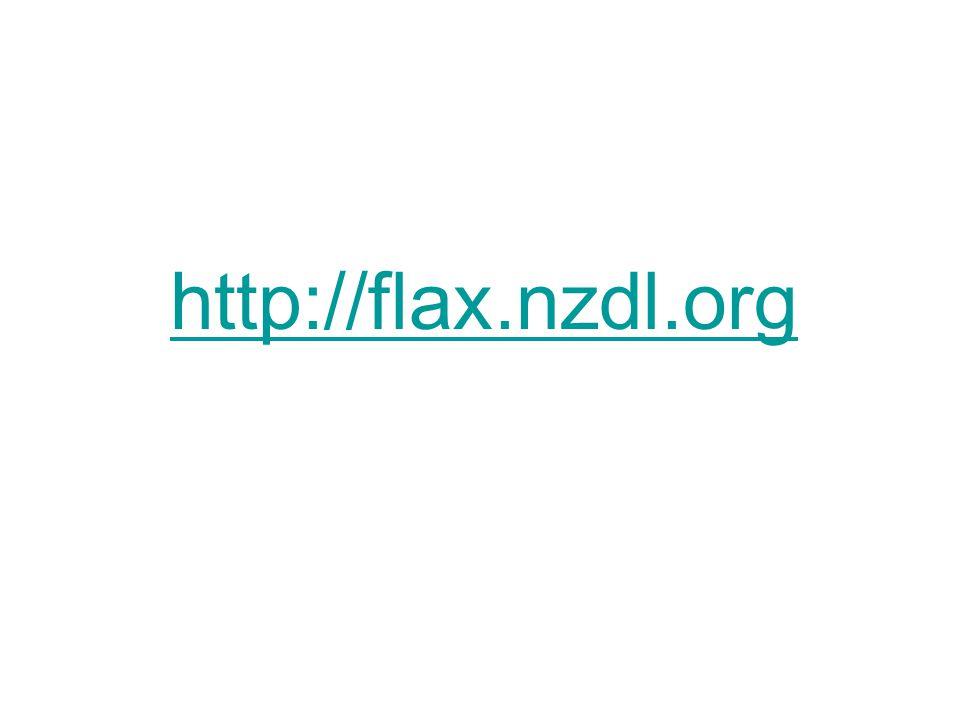 http://flax.nzdl.org