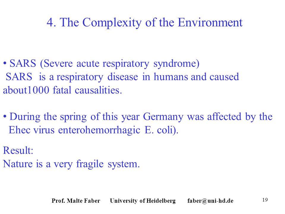 Prof. Malte Faber University of Heidelberg faber@uni-hd.de 19 4.