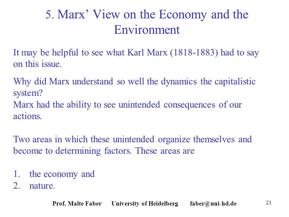 Prof. Malte Faber University of Heidelberg faber@uni-hd.de 21 5.