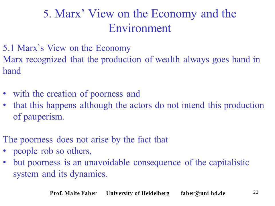 Prof. Malte Faber University of Heidelberg faber@uni-hd.de 22 5.
