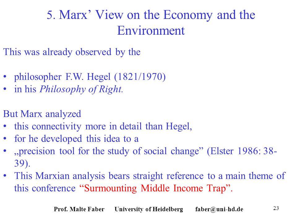 Prof. Malte Faber University of Heidelberg faber@uni-hd.de 23 5.
