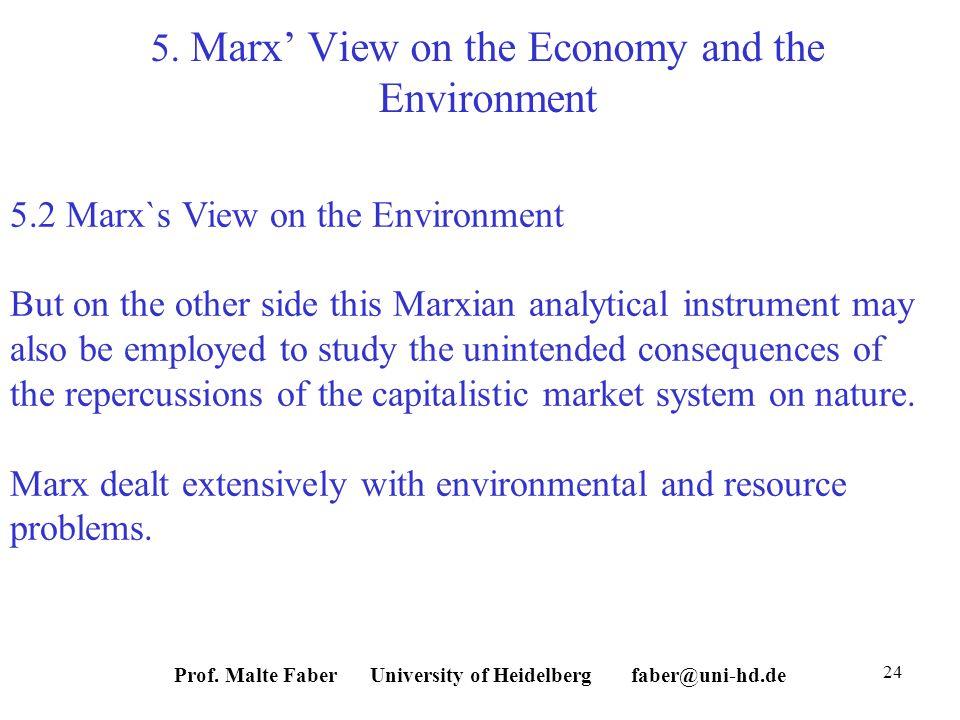 Prof. Malte Faber University of Heidelberg faber@uni-hd.de 24 5.