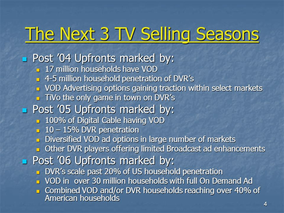 15 Enhanced Advertising Business Scenarios Scenario I – Thousand Flowers Bloom Scenario I – Thousand Flowers Bloom Enhanced Advertising Program is purchased as part of existing television ad program.