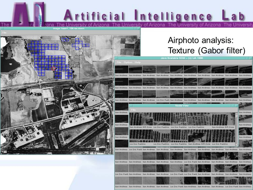 Airphoto analysis: Texture (Gabor filter)
