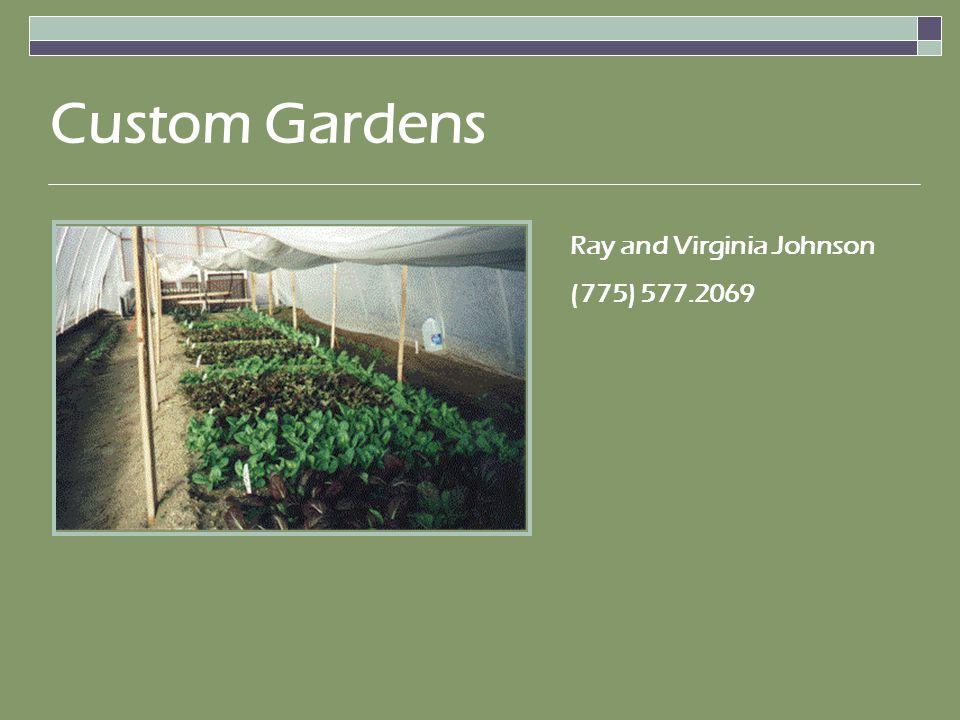 Ray and Virginia Johnson (775) 577.2069