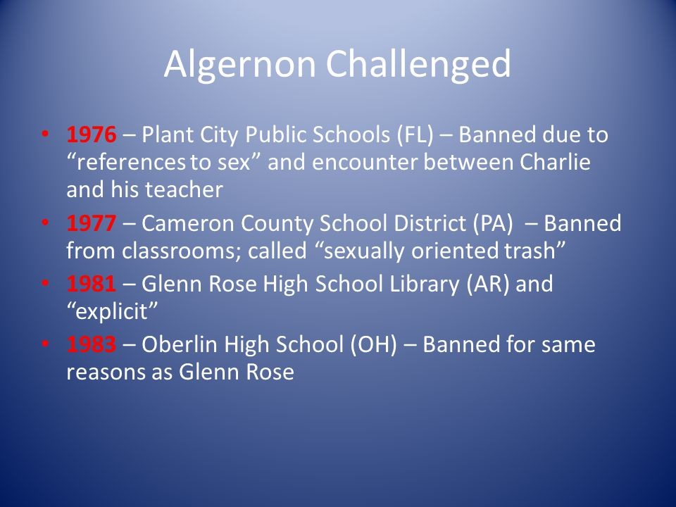 Book Banning 3,019 challenges between 1/1/00 and 12/31/05 (ALA) Roughly 85% of challenges go unreported (Kidd) Books that inspire may also offend. (Le