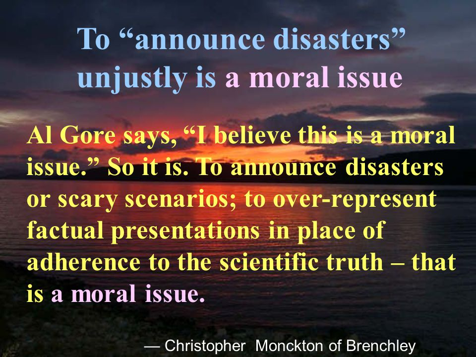 112 The IPCC did not tell the truth. Paul Reiter IPCC bars scientists who reject alarmism C.