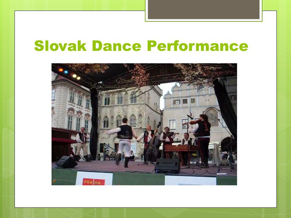 Slovak Dance Performance