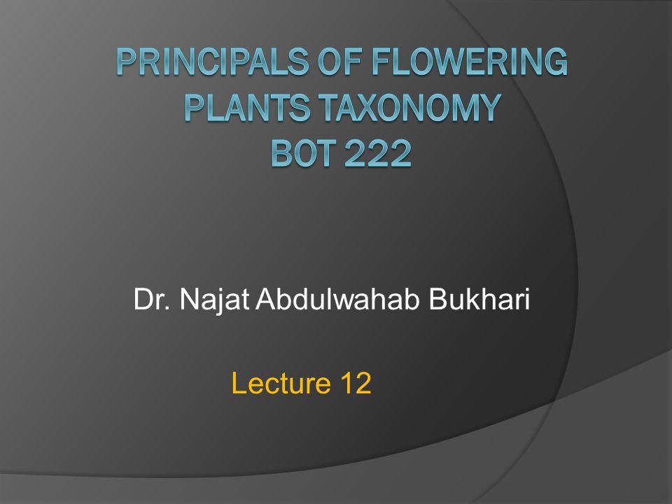 Dr. Najat Abdulwahab Bukhari Lecture 12
