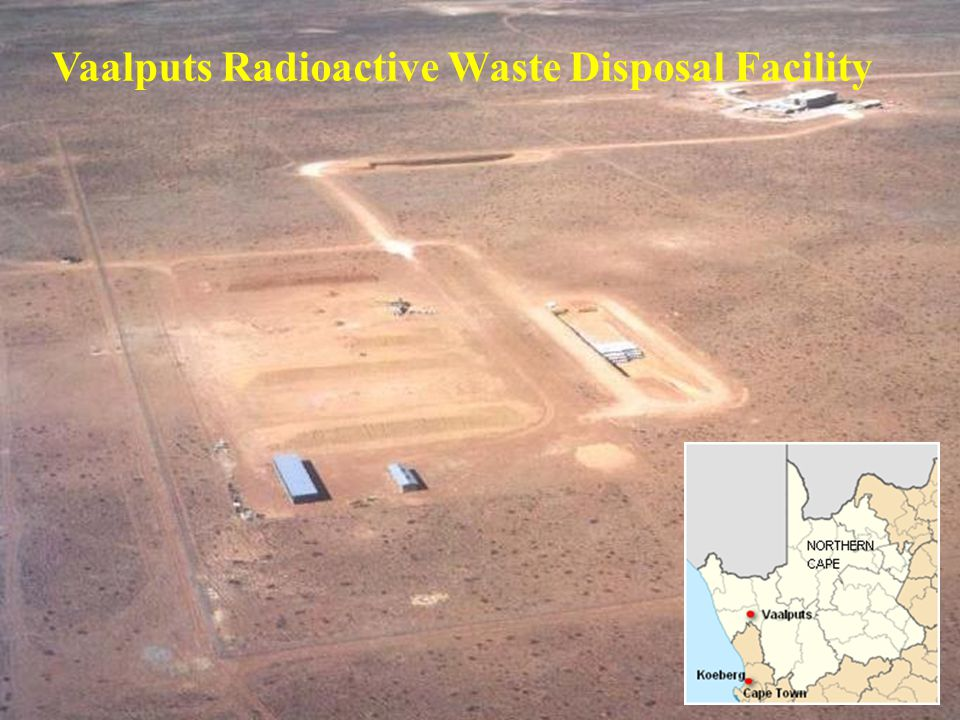 Vaalputs Radioactive Waste Disposal Facility