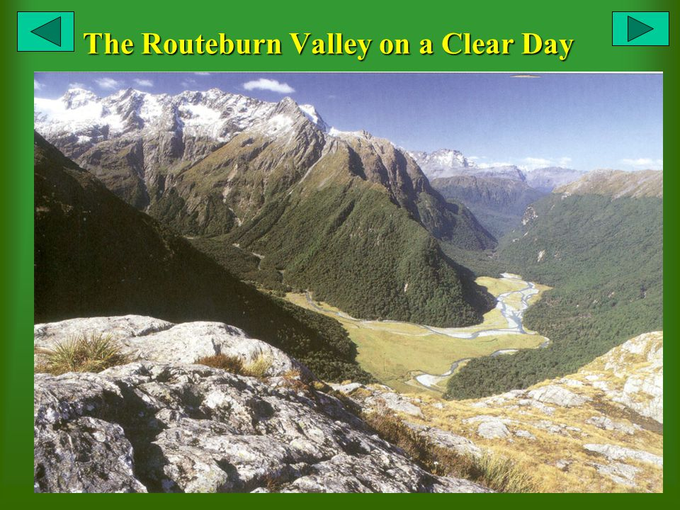 The Routeburn Valley on a Clear Day