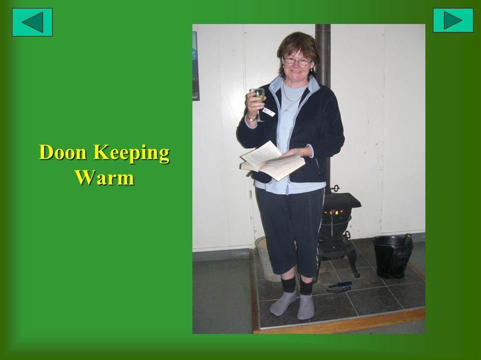 Doon Keeping Warm