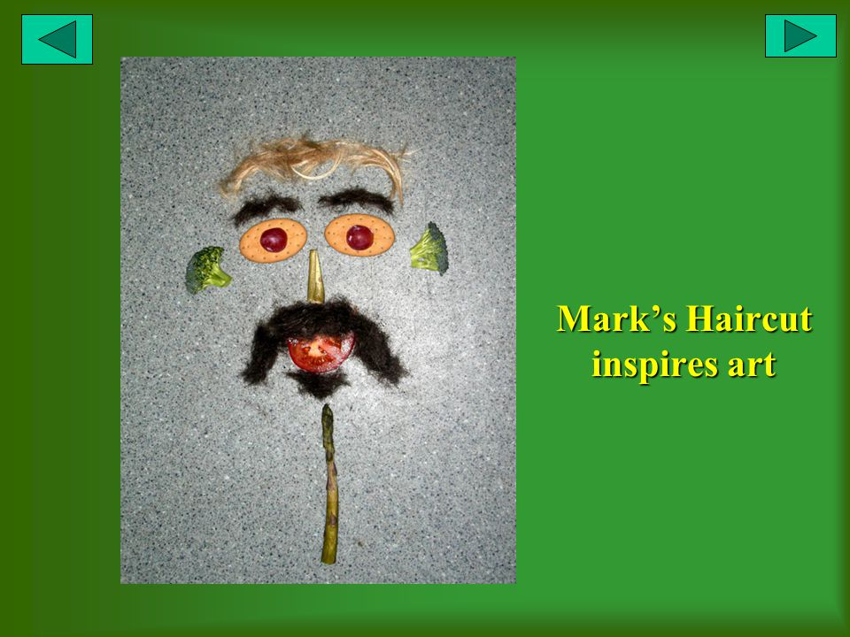 Marks Haircut inspires art